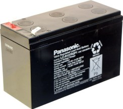 7.2 A-hr Sealed Lead Acid Battery.