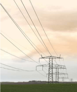 Figure 1: Power Lines are Hazardous for Low-Flying Airplanes.
