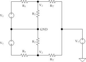 Figure 1: Termination Circuit.