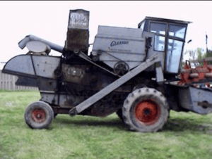 Figure 1: Gleaner Combine as Originally Configured.