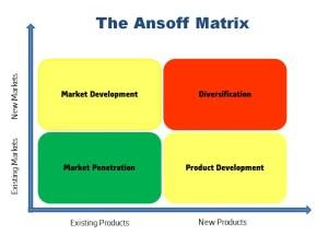 Matrix organization binary strategy