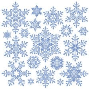 Figure 1: Many People Believe that Every Snowflake is Unique.