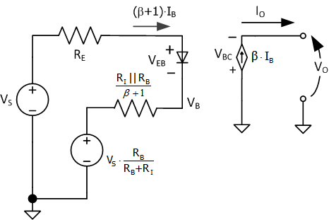 Figure M: Equivalent Circuit with Impedance Transformation.
