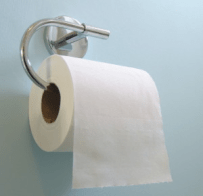 Figure 1: Typical Roll of Toilet Paper.