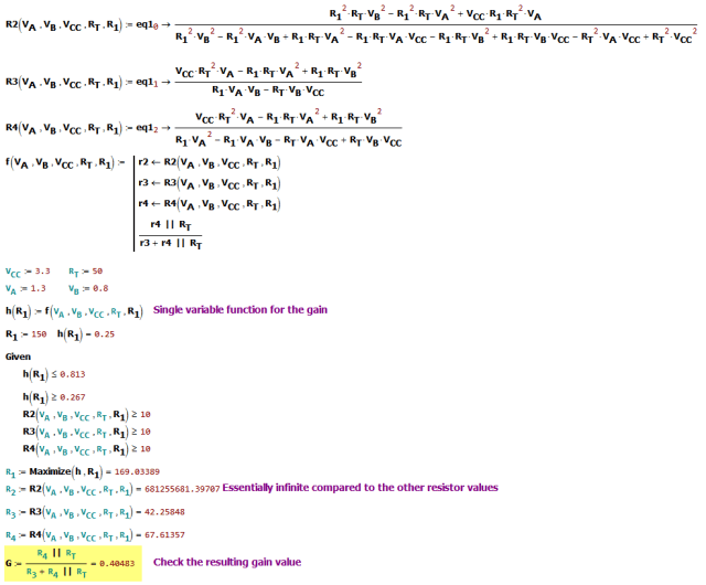 Figure M: Determine the Optimum Solution.