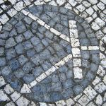 Figure 1: Transistor Symbol Inlayed into the Pavement in Aveiro, Portugal. (Wikipedia)