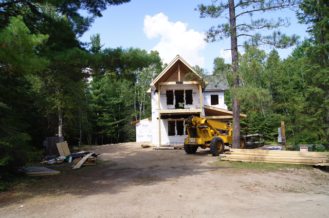 Figure 8: View of the Cabin From the Driveway.