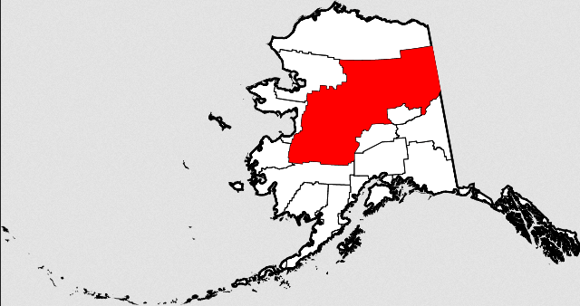 Figure 4: Yukon-Koyukok Borough in Alaska.
