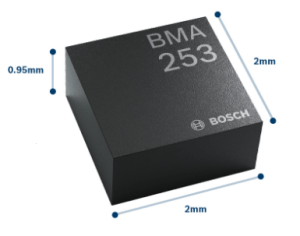 Figure 1: Monolithic Accelerometer from Bosch. (Source)