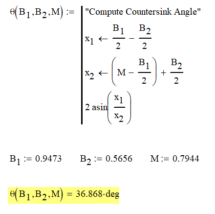 Figure 4: Example Calculations.