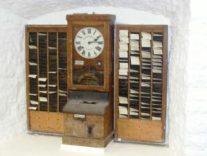 Figure 1: Old School Work Time Clock.