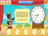 Find the Start Time - Mathsframe