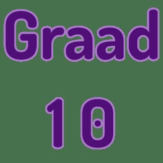 Graad 10 Wiskunde