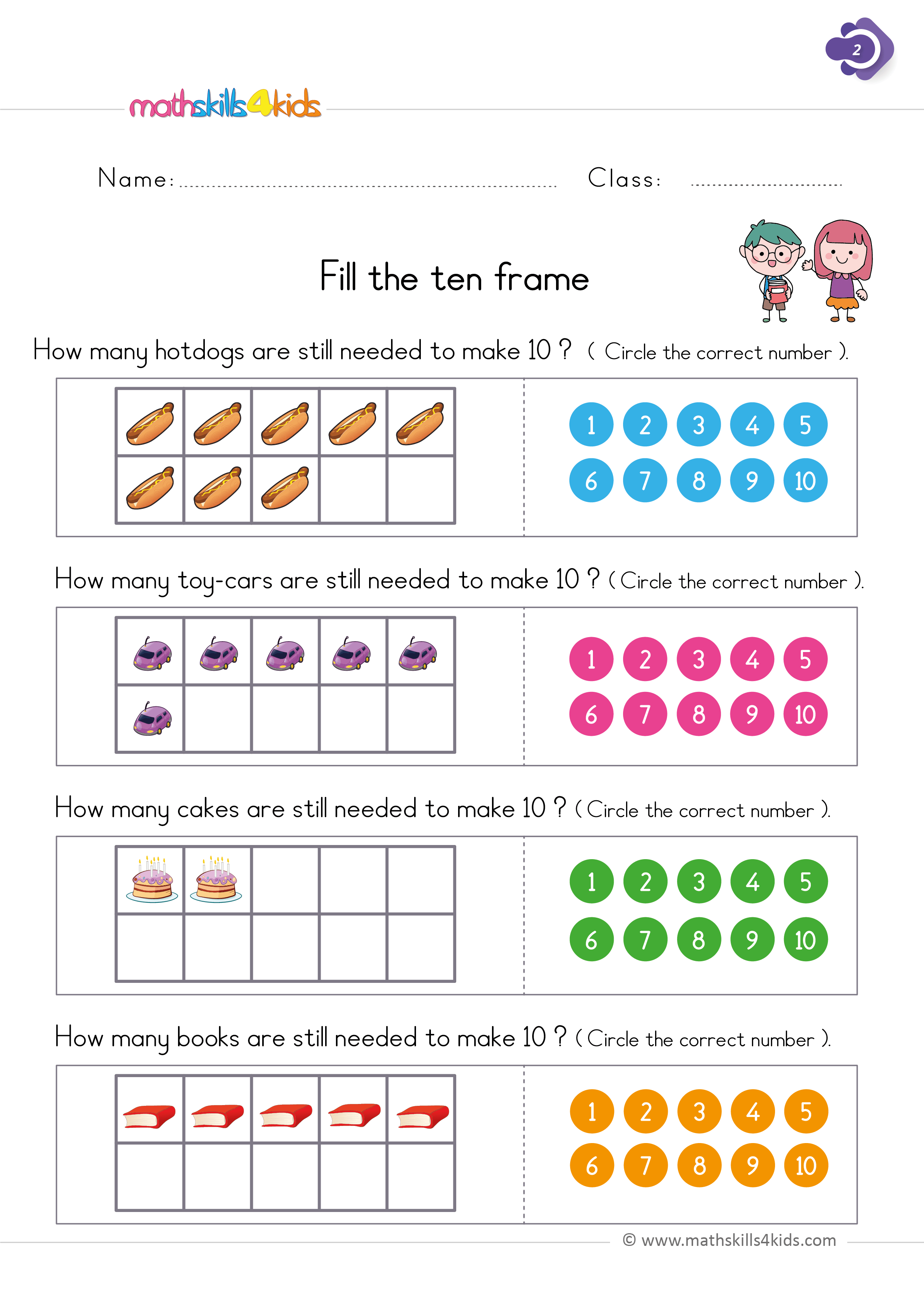 Numbers And Counting Worksheets For Grade 1