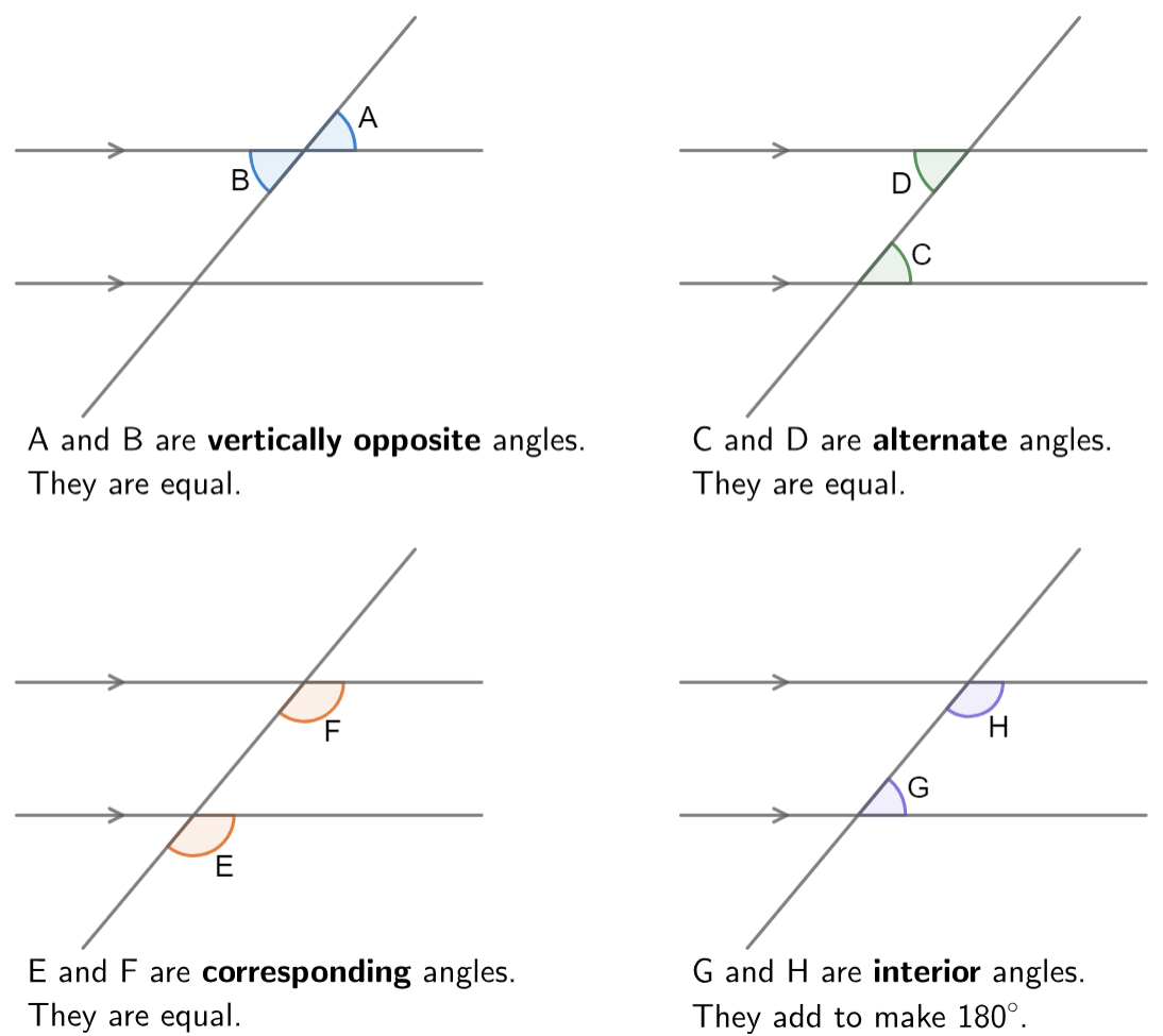 Line And Angle Relationships Worksheet Answers