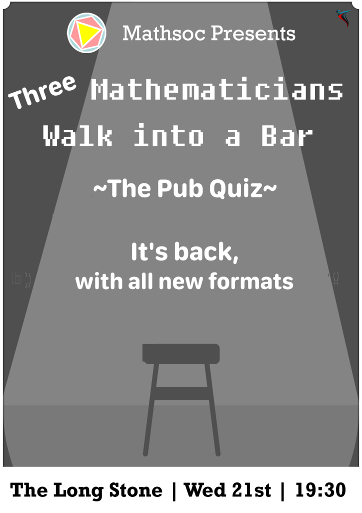 Three Mathematicians Walk into a Bar