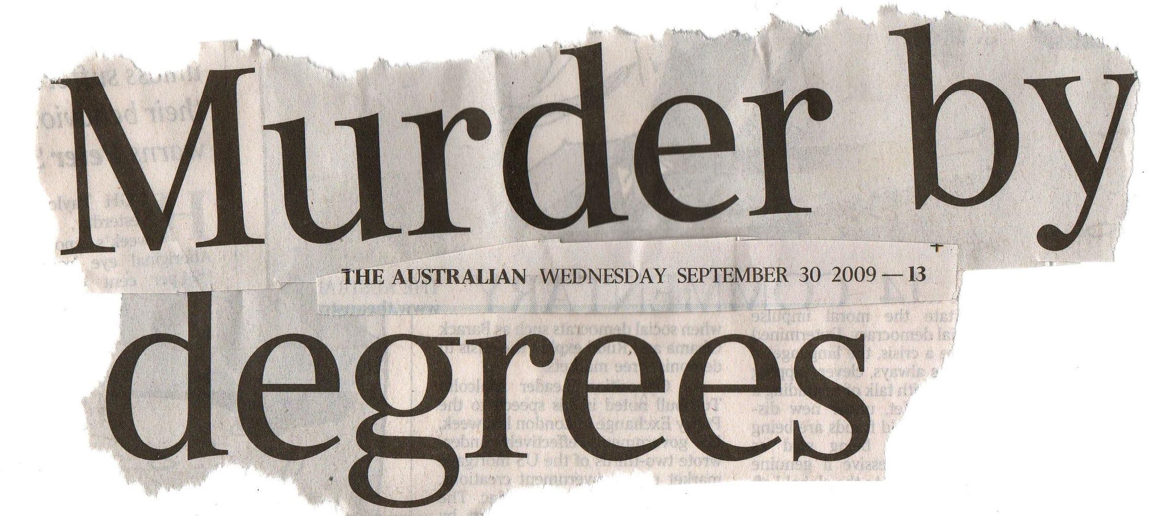 Murder Correction