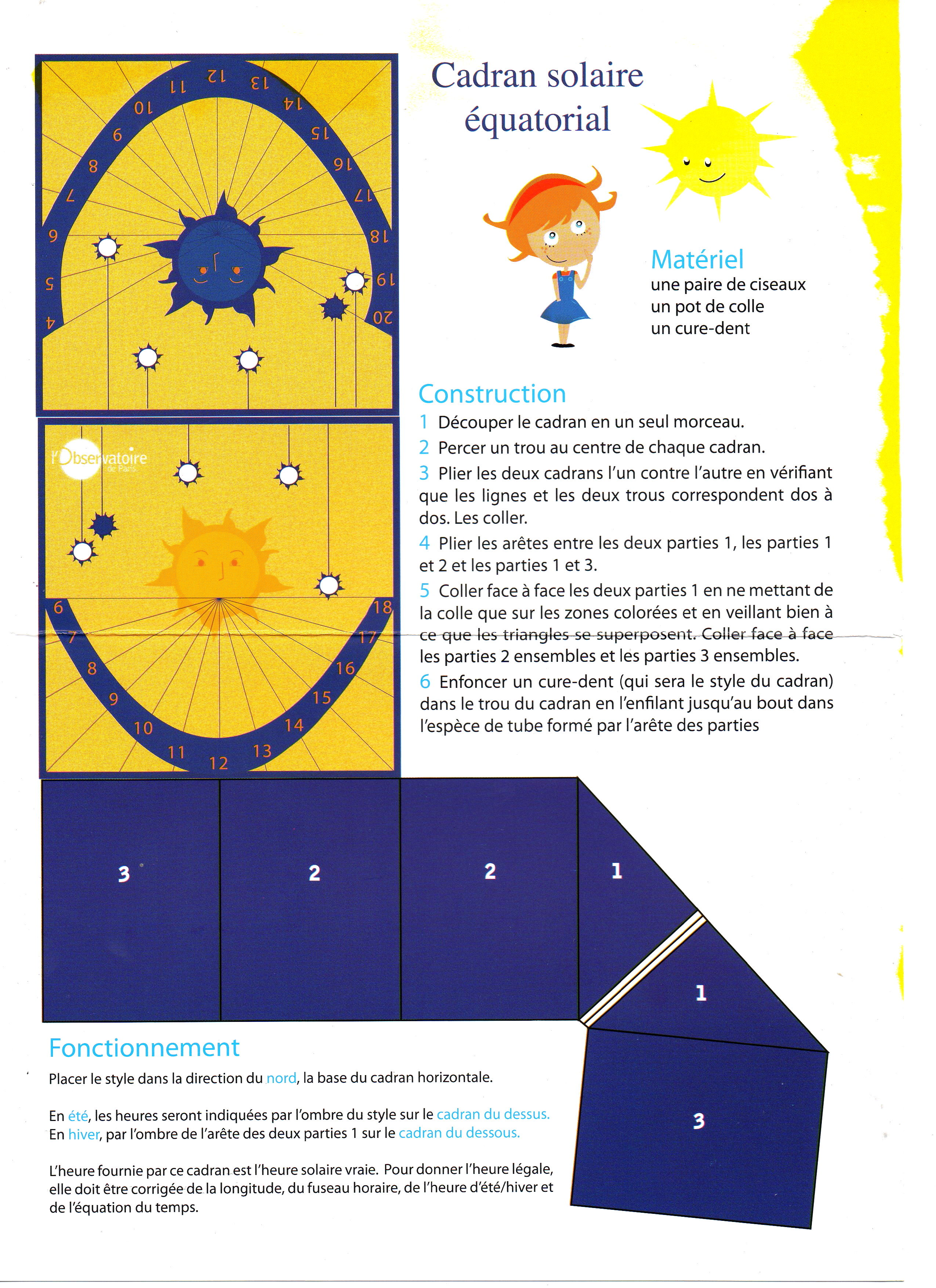 Southern Hemisphere Sundial