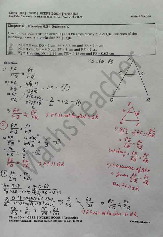 class 10 chapter-6 ex 6.2 Q-2