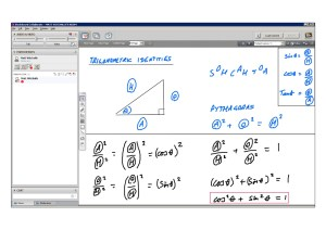 An example of online maths tuition for C2 Core Maths. The topic is trigonometric identities.