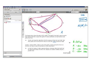 An example of online maths tuition for D1 Decision. The topic is route inspection.