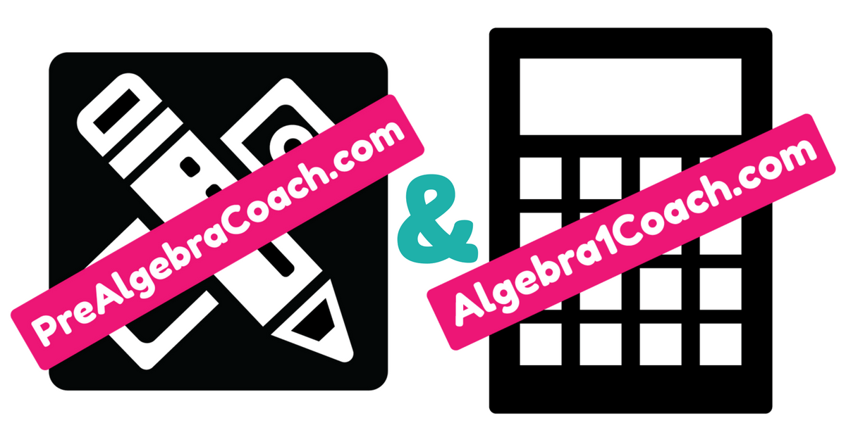 Pre-Algebra & Algebra 1