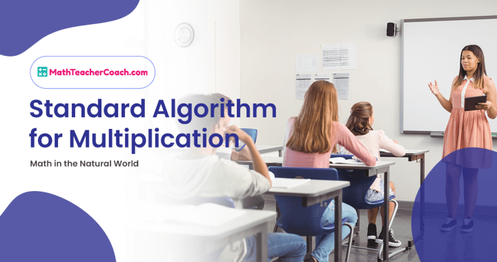 How to Teach the Standard Algorithm for Multiplication 5th Grade Math
