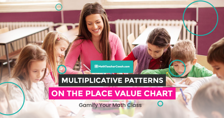 Teaching Manipulative Patterns on the Place Value Chart 5th Grade Math