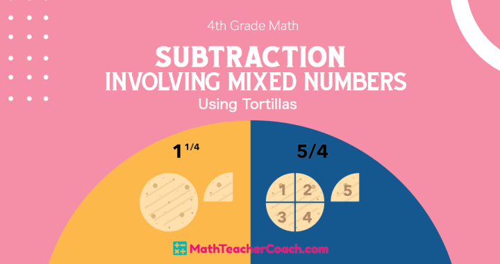 Subtraction Involving Mixed Numbers Activity