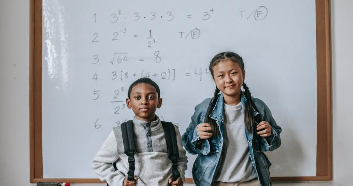 Teaching order of math operations without parentheses