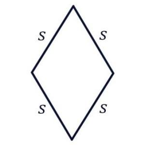 Perimeter of a Rhombus Formula