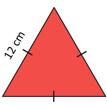 Perimeter of an Equilateral Triangle Whole Number Example