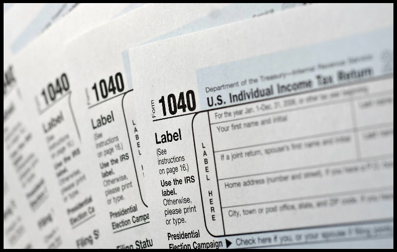 US INCOME TAX FORMS