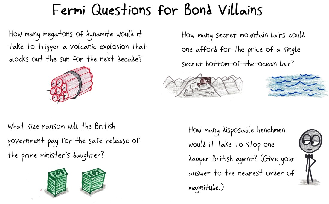 2018.3.15 bond villain fermi questions