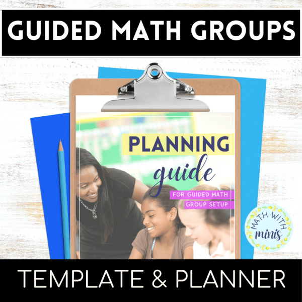 4th Grade Math Center Ideas Math Workshop and Guided Math Groups Teacher Planner for the Back to School season