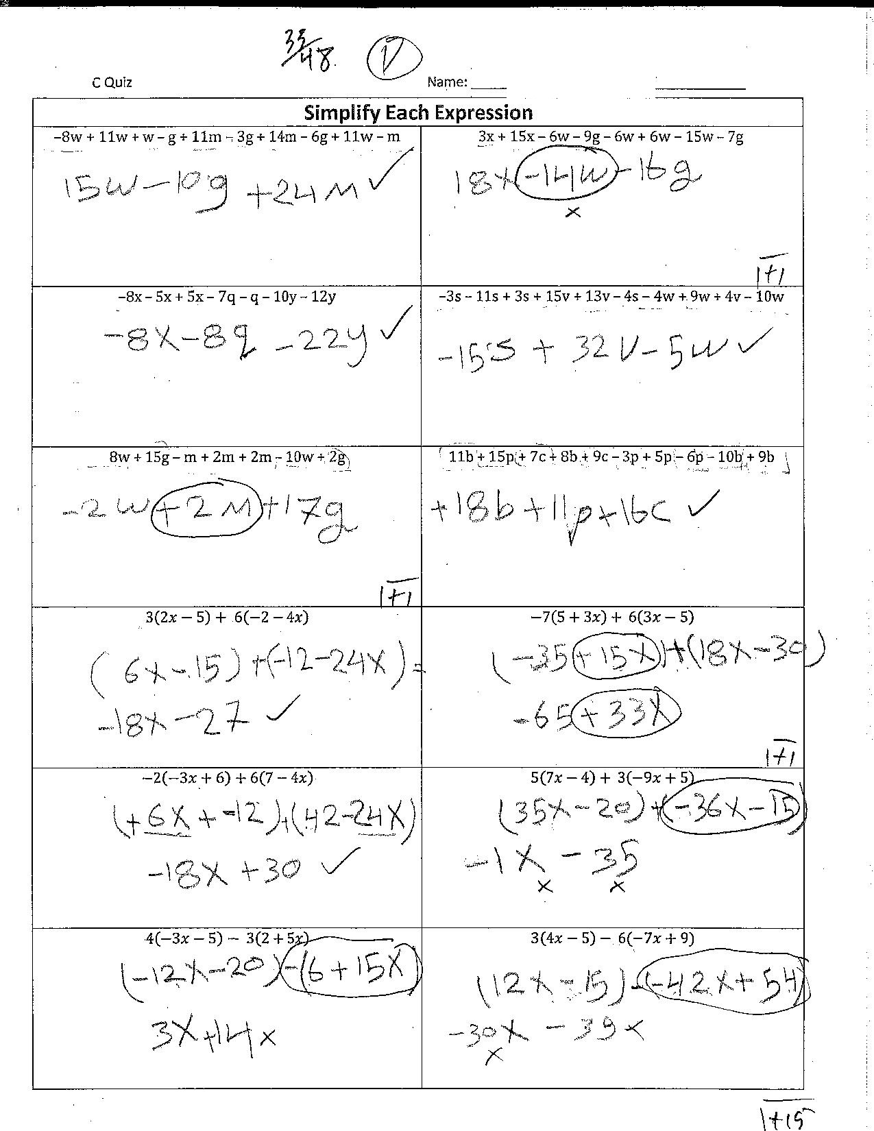 Progress In Mathematics Grade 7