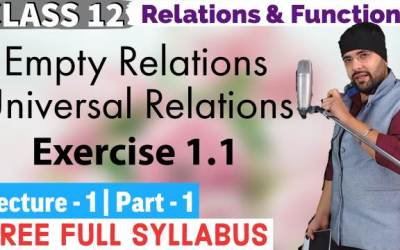 Exercise 1.1 Relations and Functions Class 12 Maths Chapter 1