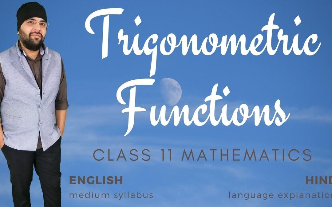 Ch03. Trigonometric Functions – 1Y