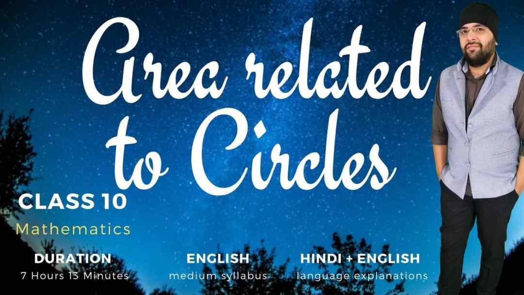 Area related to Circles Class 10 Maths 1400px