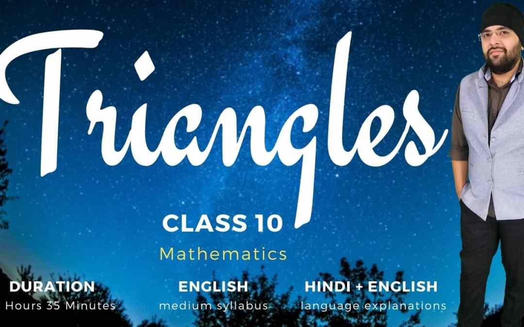 Ch6. Triangles