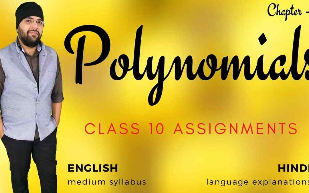 Polynomials Class 10 Assignments