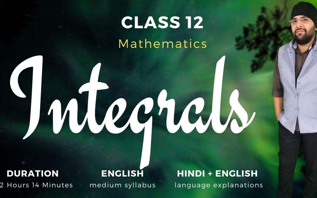Ch07. Integrals – 1Y