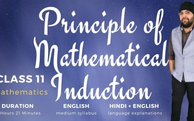 Ch04. Principle of Mathematical Induction – 1Y