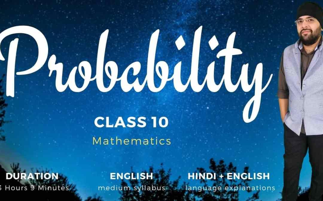 Ch15. Probability