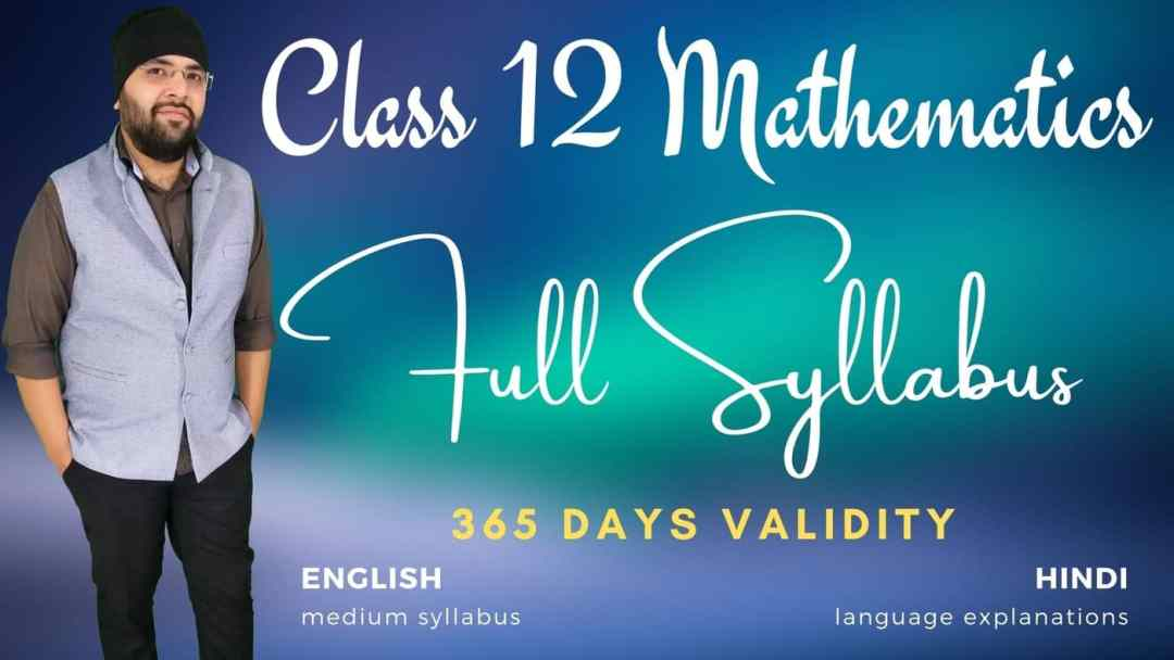 Full Syllabus Class 12 Maths 1400px