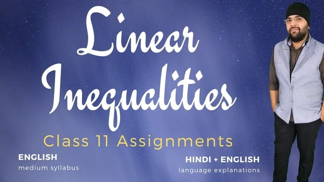 Ch06. Linear Inequalities Assignments