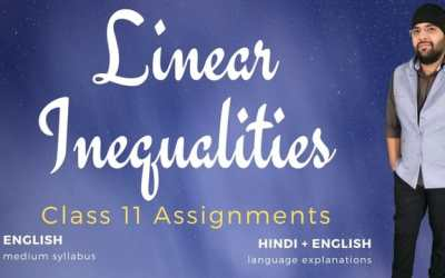 Ch06. Linear Inequalities Assignments – 1Y