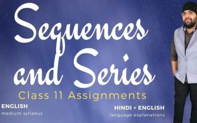 Ch09. Sequences and Series Assignments – 1Y