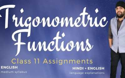 Ch03. Trigonometric Functions Assignments – 1Y