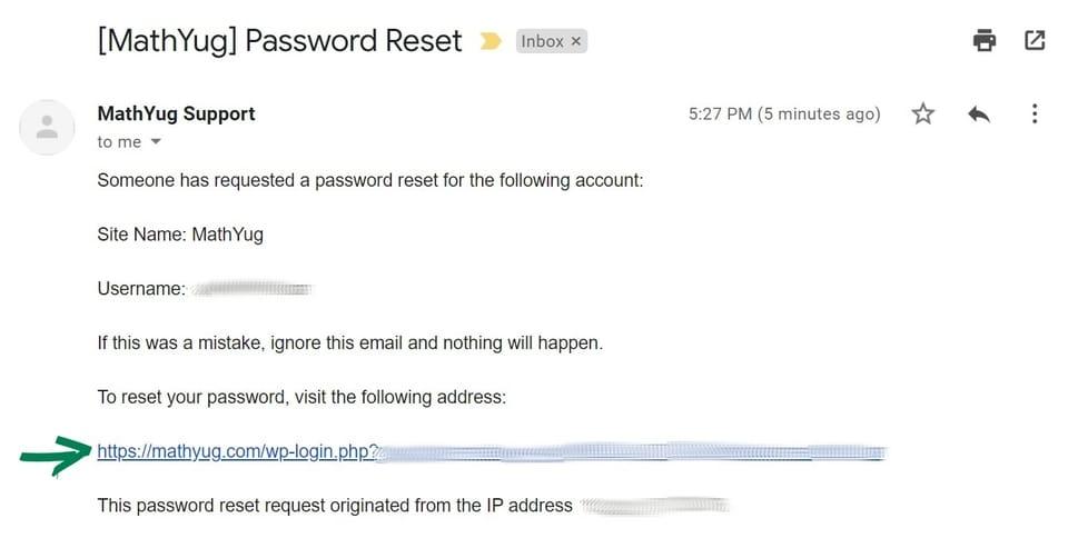 password change 3